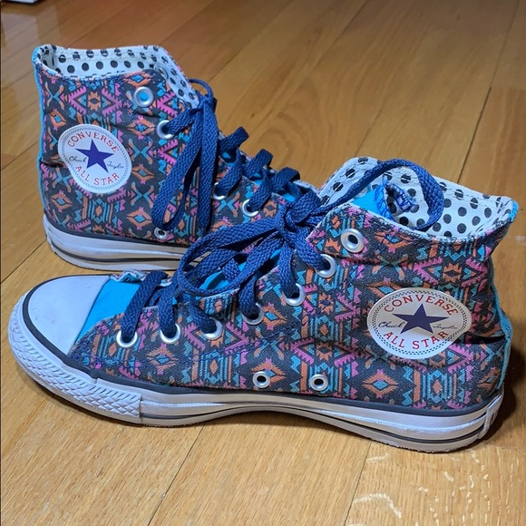 Converse Shoes | Custom Patterned High